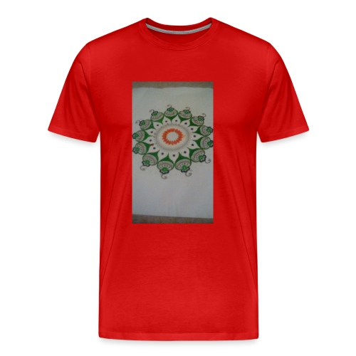 Freehand pattern by josef - Men's Premium T-Shirt