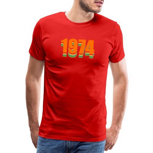 1974 rainbow - Männer Premium T-Shirt