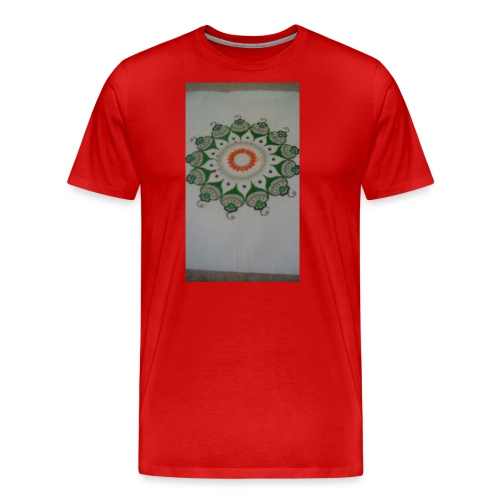 Freehand pattern by josef - Men's Premium T-Shirt