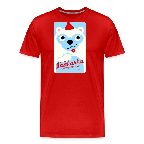 Jääkarhu - Miesten premium t-paita
