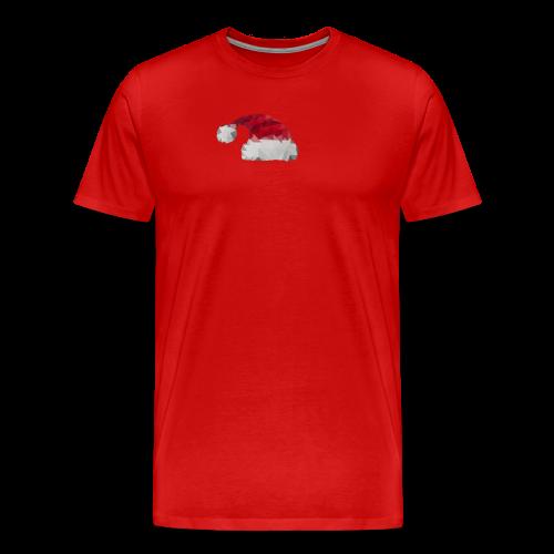 Kerstmuts - Mannen Premium T-shirt