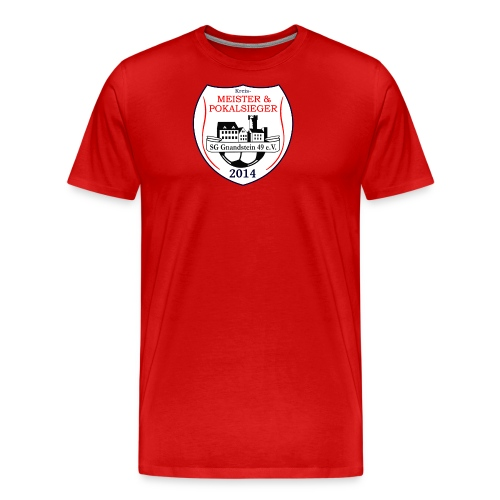 meister pokalsieger Kopie gif - Männer Premium T-Shirt