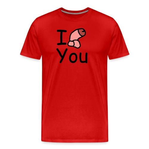 I dong you pillow - Men's Premium T-Shirt