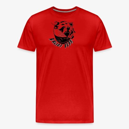 Galiot Bear Logo schwarz - Männer Premium T-Shirt