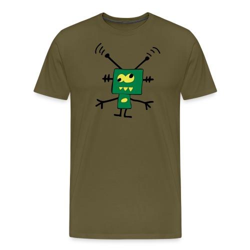 robot - Koszulka męska Premium