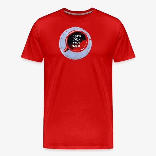 Coffee Shop Film Talk - Men's Premium T-Shirt