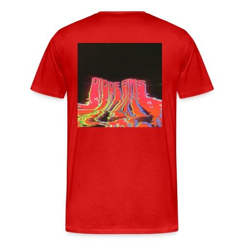 Funky Red - Männer Premium T-Shirt
