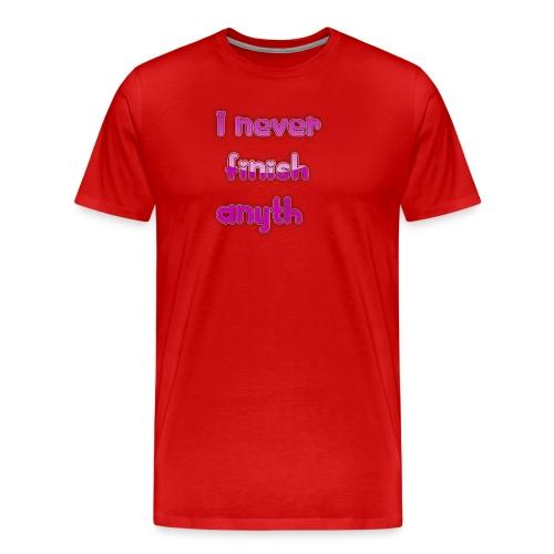 finish - Men's Premium T-Shirt