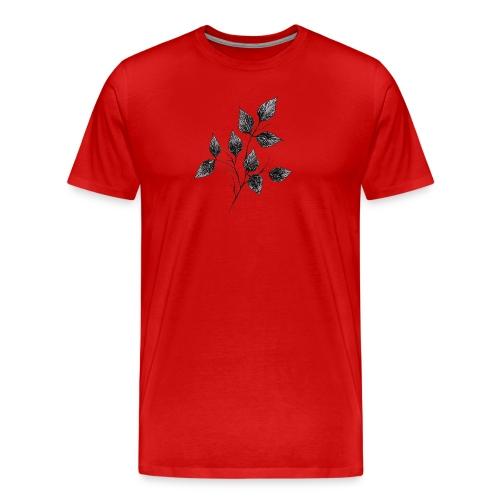Leaves - Koszulka męska Premium