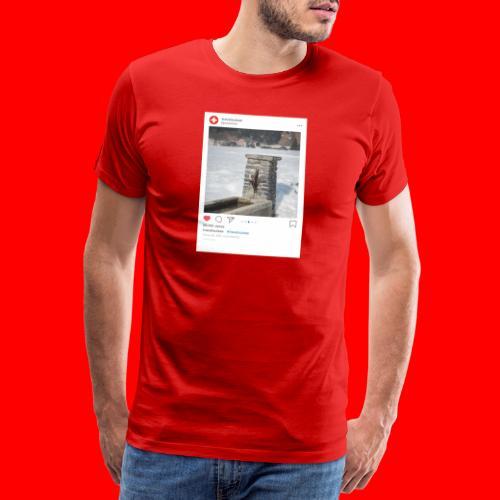 travelsuisse - Brunnen Trin - Männer Premium T-Shirt
