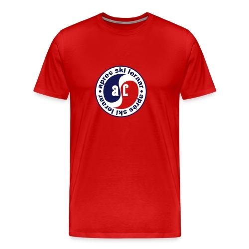 Apres Ski Leraar (blauw) - Mannen Premium T-shirt