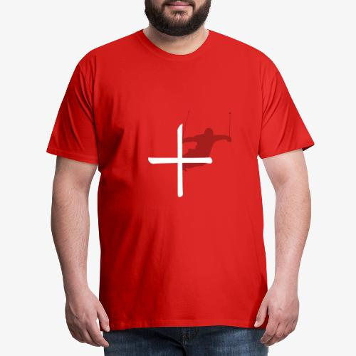 Ski Switzerland - Men's Premium T-Shirt