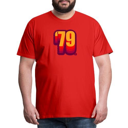 79 red shift vtgd - Männer Premium T-Shirt