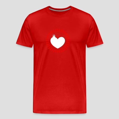Dom Herz - Männer Premium T-Shirt