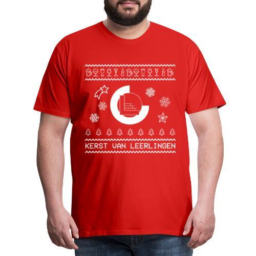 CvL Ugly Christmas Design - Mannen Premium T-shirt