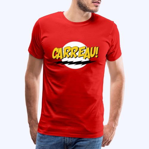 Carreau! - Mannen Premium T-shirt