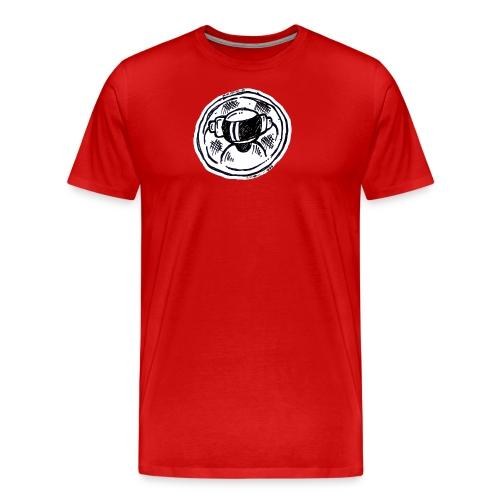 Machine Boy Ruff White - Men's Premium T-Shirt