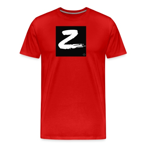 Z - Premium-T-shirt herr
