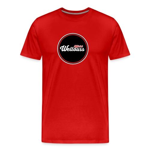 Wellouss Fan T-shirt   Rood - Mannen Premium T-shirt