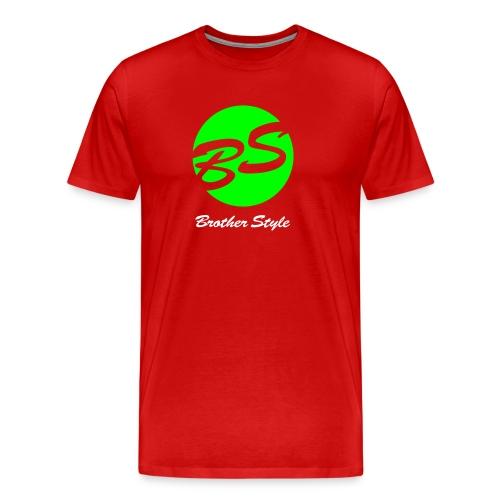 Brother Style Logo 2 - Männer Premium T-Shirt