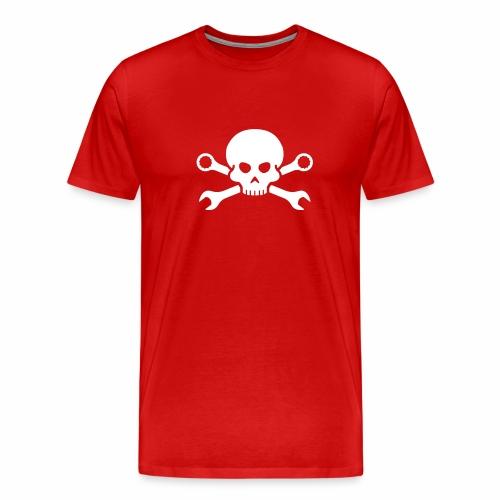 Skull'n'Tools Pirate Skull - Men's Premium T-Shirt