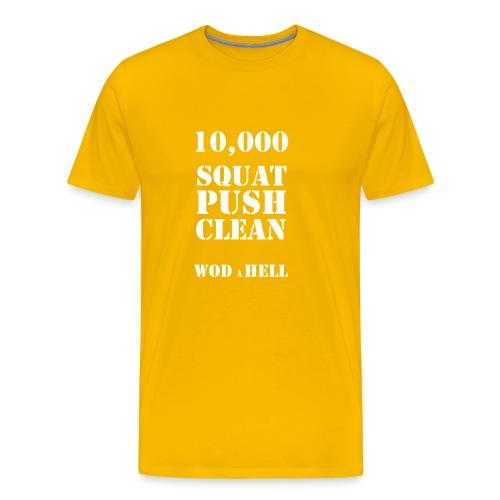 WOD à HELL - Premium-T-shirt herr