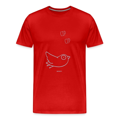 uccellino - Maglietta Premium da uomo