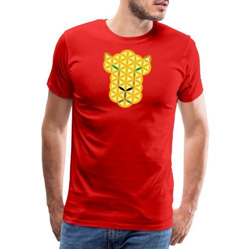 The Big Cat Of Life - Sacred animals, A01. - Men's Premium T-Shirt