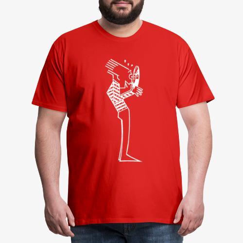 Vinyl Mania - Premium-T-shirt herr