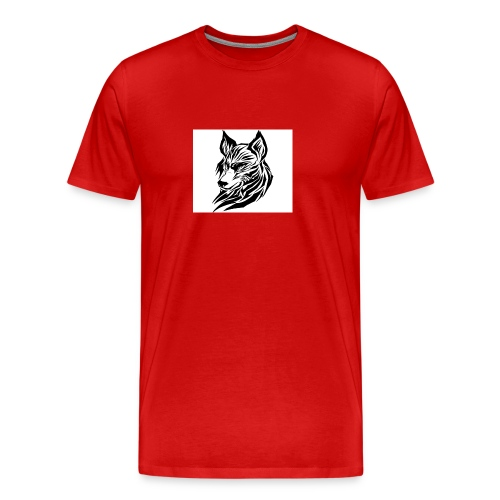 loup 2 jpg - T-shirt Premium Homme