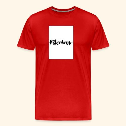 Østerbrew - Herre premium T-shirt