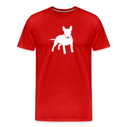 hunde_dogz_minibull_v2 - Männer Premium T-Shirt