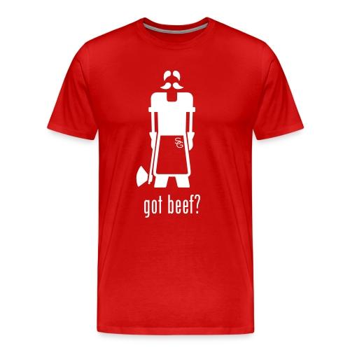 gotbeef2 - Mannen Premium T-shirt