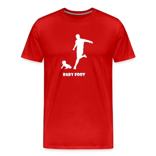 baby foot blanc png - T-shirt Premium Homme