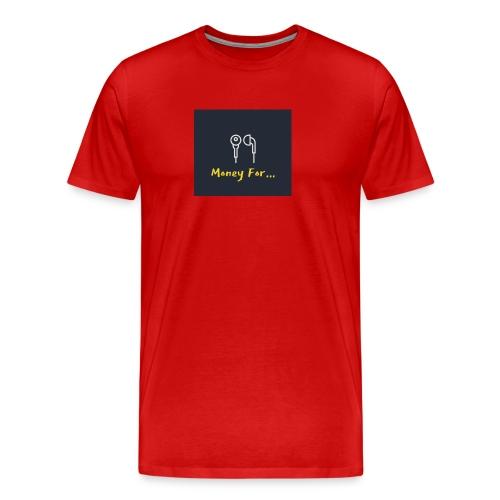 Money For Logo - Men's Premium T-Shirt
