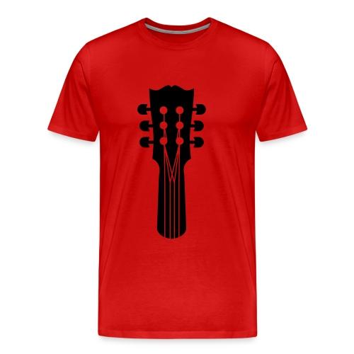 gitaar - Mannen Premium T-shirt