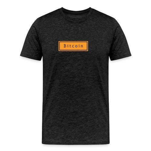 bitcoin basic - Mannen Premium T-shirt