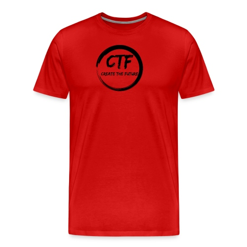 CTF BLACK/BLACK - Mannen Premium T-shirt