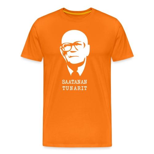 Kekkonen saatanan tunarit - Miesten premium t-paita