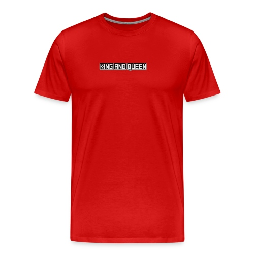 king - Mannen Premium T-shirt