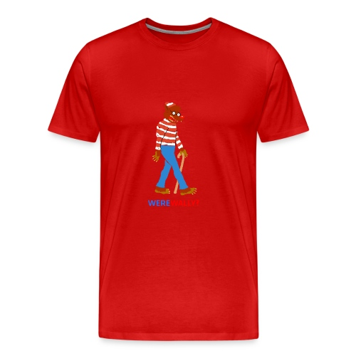waldo0 copy - Men's Premium T-Shirt