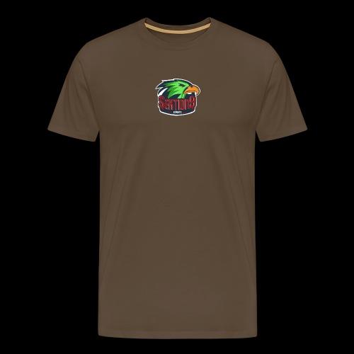 Sektion9 Logo Grün - Männer Premium T-Shirt
