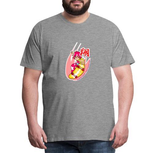 Skating girl - Men's Premium T-Shirt