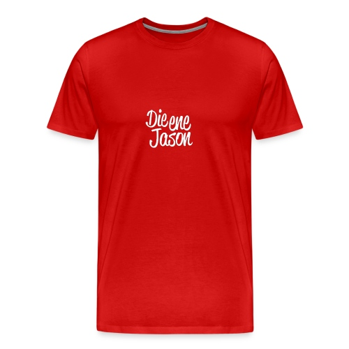 DieEneJason Vrouwen sweatshirt - Mannen Premium T-shirt