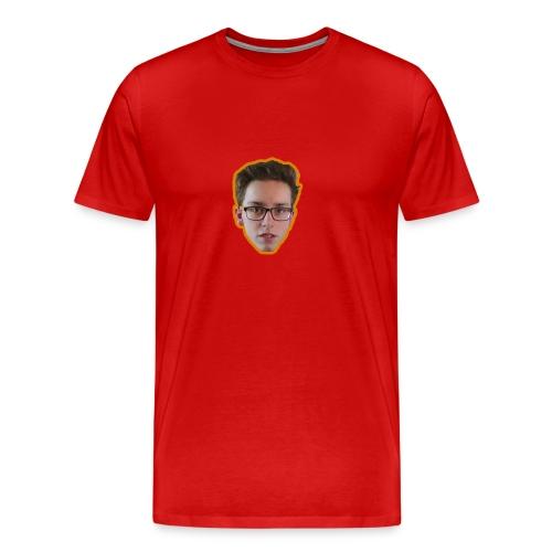 T-shirt met ginger hoofd op - Mannen Premium T-shirt