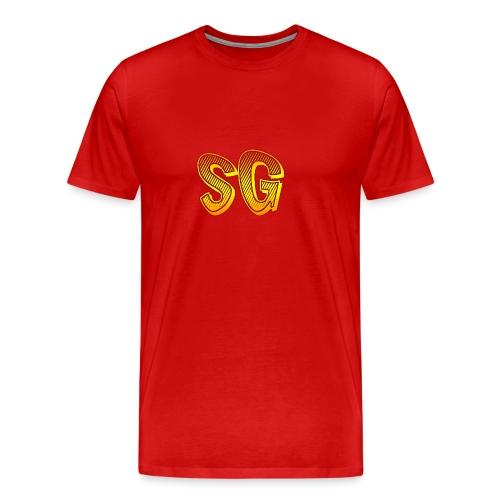 Felpa SG Uomo - Maglietta Premium da uomo