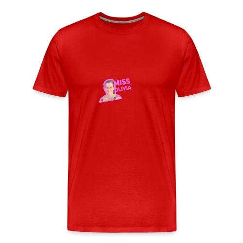 MissOlivia - Mannen Premium T-shirt