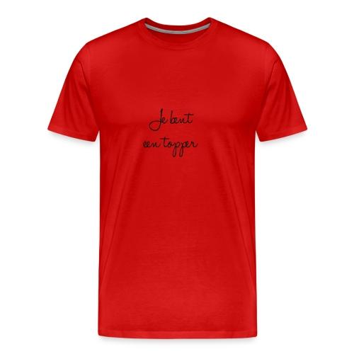 jebenteentopper - Mannen Premium T-shirt