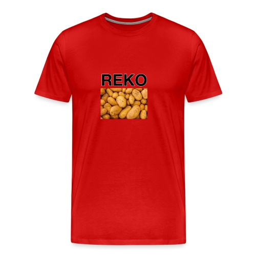 REKOpaita perunat - Miesten premium t-paita