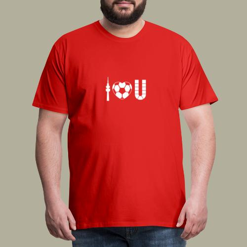 Dortmund I Love U - Männer Premium T-Shirt